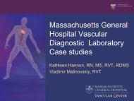 Diagnostic Laboratory Case Studies - Michigan Vascular Association