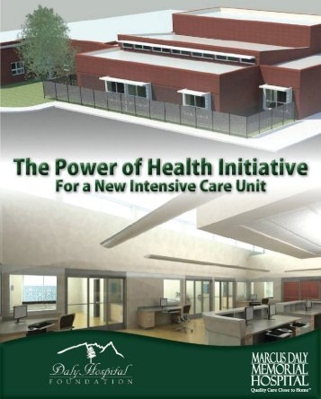 Hospitalists and the ICU - Marcus Daly Memorial Hospital.