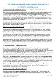 TuS Tischtennis – Vorrunden-Abschlussbericht Saison 2009/2010 ...