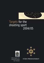 Targets catalogue 2004 - Eggerdruck
