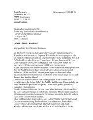 Wald- Wild- Konflikt/Zembsch-Brunner - Wald-Wild-Mensch