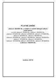 PLATNÉ ZNĚNÍ - Vodovody a kanalizace Jablonné nad Orlicí as