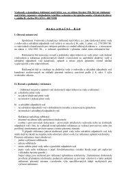 Reklamační řád - Vodovody a kanalizace Jablonné nad Orlicí as