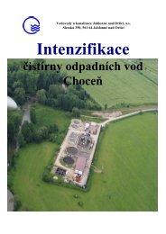ČOV Choceň - Vodovody a kanalizace Jablonné nad Orlicí as
