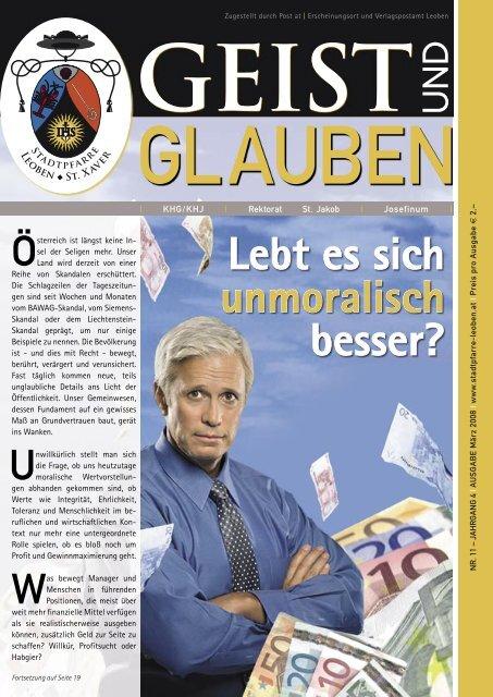 GEIST und GLAUBEN, März 2008