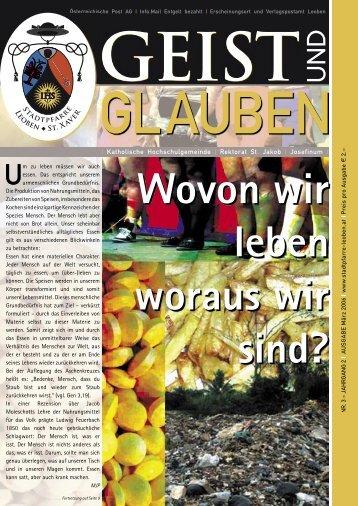Nr. 3 - Stadtpfarre Leoben - St. Xaver