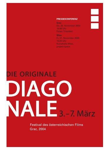 DIAGONALE Festival des österreichischen Films ... - Diagonale 2004