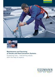 Smoke and Heat Extraction Systems - Essmann GmbH