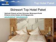 Skiresort Top Hotel Paket - Skiresort Service International