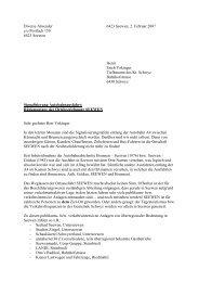 Download Original-Brief an Erich Vokinger vom Tiefbauamt als PDF ...