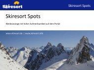 Skiresort ist… - Skiresort Service International