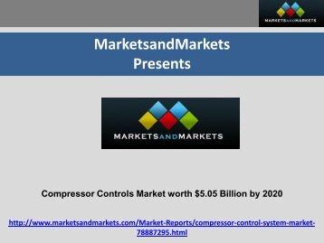Compressor Controls Market by Controlling Component