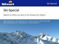 Ski-Special (PDF-Dokument) - Skiresort Service International