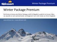 Hiermit bestelle ich das Winter Package Premium 2011/2012 zum ...