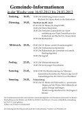 Gottesdienstordnung - Herz-Jesu-Kirche - Page 2