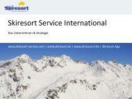 Folie 1 - Skiresort Service International