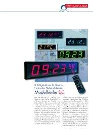 Prospekt DC D BMT - KRETSCHMER Informationselektronik GmbH
