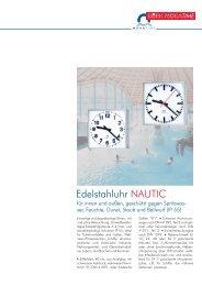 Edelstahluhr Edelstahluhr NAUTIC - Bürk Mobatime GmbH