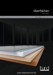 Oberflächen - objectservice.de