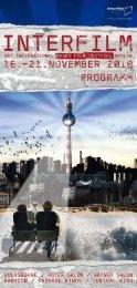 Das Programmheft als PDF - Interfilm Berlin