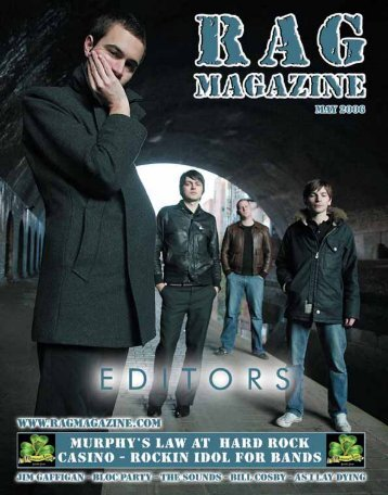 Ad – Murphys Law - RAG Magazine