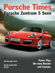 Porsche Zentrum 5 Seen - Porsche Zentrum Olympiapark
