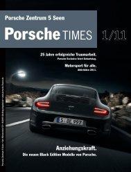Die neuen Black Edition Modelle von Porsche. - Porsche Zentrum ...