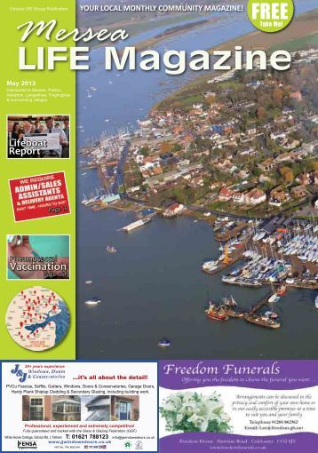 Mersea Life May - Estuary LIFE Magazines