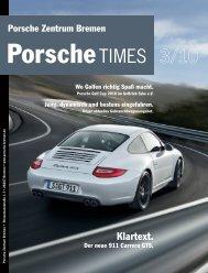 Klartext. - Porsche