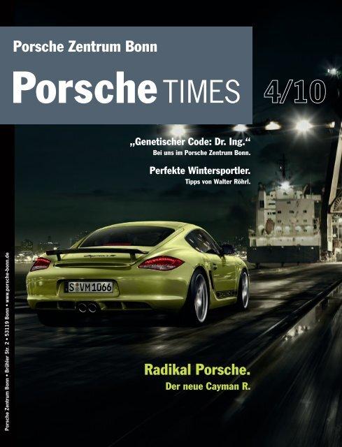 Radikal Porsche. Der neue Cayman R. - Porsche Zentrum ...