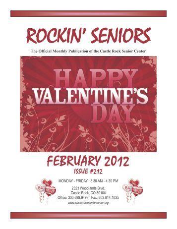 February Newsletter - Castle Rock Senior Center