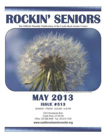May Newsletter - Castle Rock Senior Center