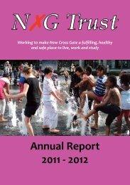 Annual Report 2011 - 2012 - New Cross Gate Trust