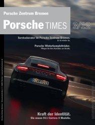 Kraft der Identität. Porsche Zentrum Bremen