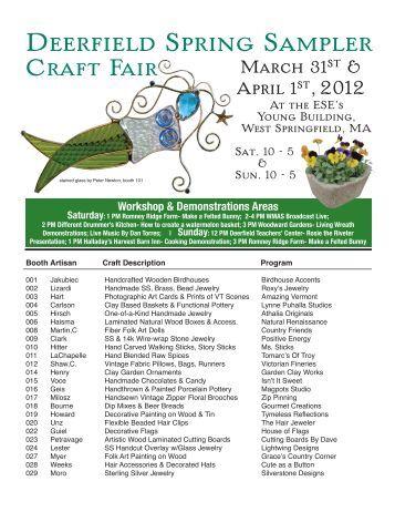 Deerfield Craft Fair