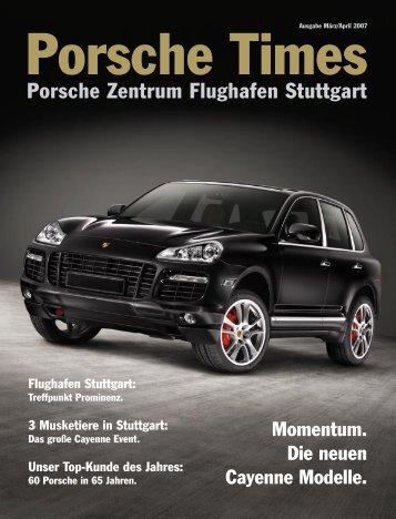 Ausgabe Mrz/Apr 2007 - Porsche Zentrum Olympiapark