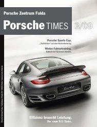 Porsche Zentrum Fulda Effizienz braucht Leistung. Der neue 911 ...
