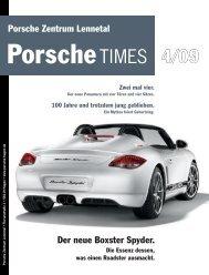 100 Jahre und trotzdem jung geblieben. - Porsche