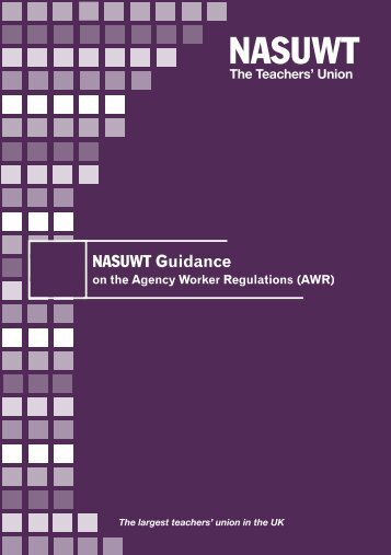 Agency Workers Regulations England - NASUWT