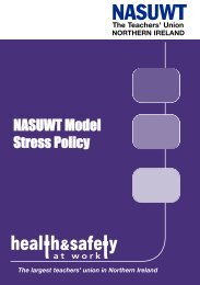 Model stress policy Northern Ireland - NASUWT