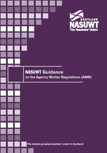 Agency Workers Regulations Scotland - NASUWT