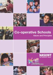 Co-operative Schools - NASUWT