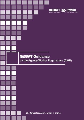 Agency Workers Regulations Wales English - NASUWT