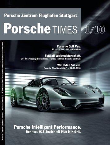 Ausgabe 1/10 - Porsche Zentrum Olympiapark