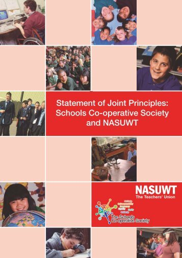 Statement of Joint Principles: Schools Co-operative Society - NASUWT