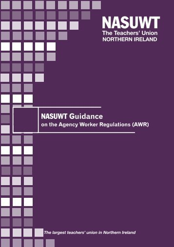 Agency Workers Regulations (Northern Ireland) - NASUWT Guidance