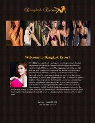 Welcome to Bangkok Escort