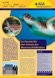 Im Einsatz für den Schutz der Meeresschildkröten