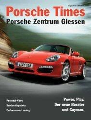Manchmal entstehen Dinge, die einmalig sind - Porsche Zentrum ...