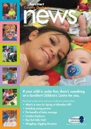 surestart news-issue6:jan08 - Sure Start County Durham